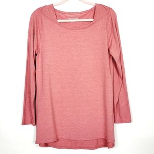 Soft Surroundings Pink Stretchy Tunic PM